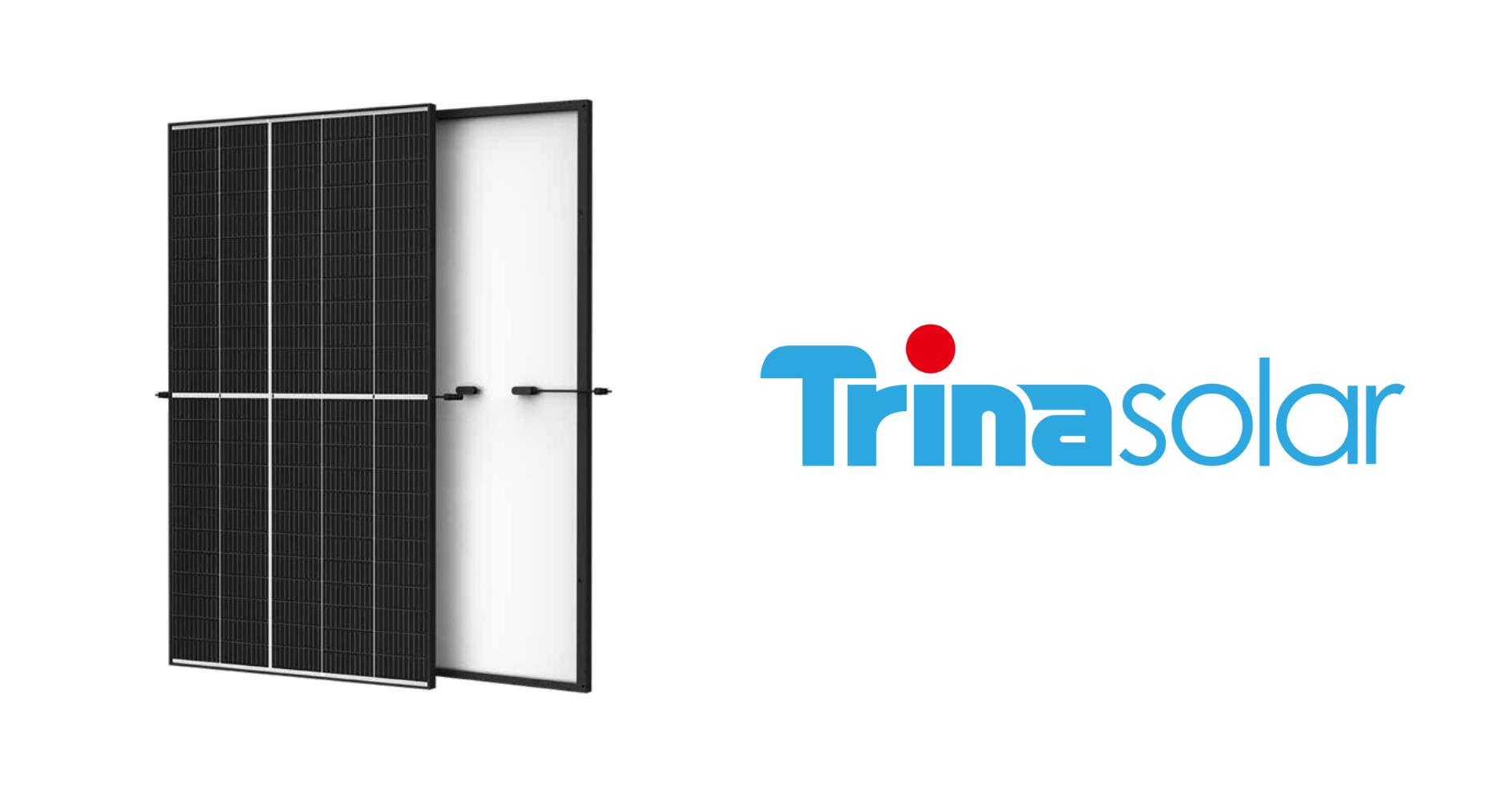 Trinasolar modules